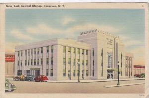 New York Syracuse New York Central Station 1943