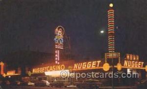 Nugget Café & Casino Gambling Postcard Postcards  Nugget Café & Casino