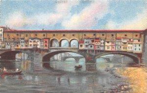 Ponte Vecchio Firenze Italy Unused