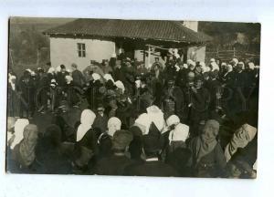 186133 RUSSIA CIVIL WAR Czech Legion in Siberia holiday photo