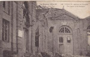 VERDUN, 1910's; La Guerre 1914-1918, The Interior Of The Seminary