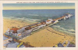 Aerial View, Steel Pier, Show Place of the Nation, ATLANTIC CITY, New Jersey,...