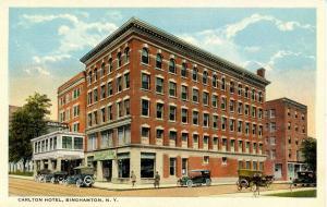 NY - Binghamton. Carlton Hotel