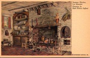 Virginia Arlington Lee Mansion The Summer Kitchen Painting By Ruth Perkins Sa...