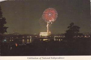 Celebration of National Independence, Fireworks, Washington D.C., United Stat...