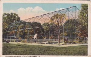 NEW ORLEANS, Louisiana, 10-20s; Bird Cage, Audubon Park
