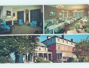 Unused Pre-1980 RESTAURANT SCENE Geneseo New York NY F7847