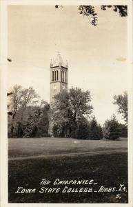RP; The Campanile Iowa State College, AMES, Iowa, PU-1947