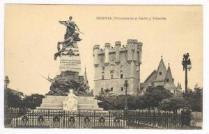 Monumento A Daoiz Y Velarde, Segovia (Castilla y León), Spain, 1900-1910s