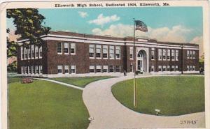 Ellsworth High School Dedicated 1926 Ellsworth Maine