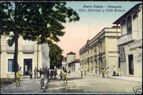 venezuela PUERTO CABELLO Casa Municipal, Calle Ricaurte