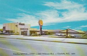 North Carolina Charlotte Catalina Motor Inn Wilkinson Road