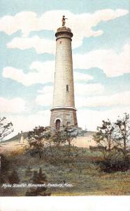 Duxbury Massachusetts Myles Standish Monument Antique Postcard K27632