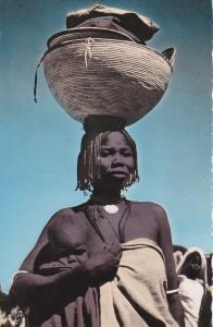 RP : TCHAD, 1930s ; ABECHE , femme et enfant au marche