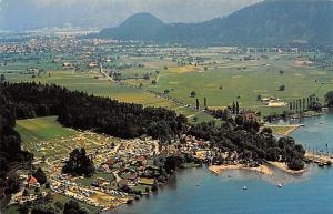 Switzerland Sundlauenen bei Interlaken Camping Manor Farm Panorama