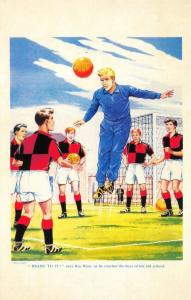 Postcard Roy of The Rovers Melchester Roy Race Comic Strip Cover from 1959