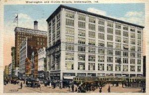 Washington and Illinois Streets - Indianapolis , Indiana IN