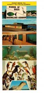 Manor of Birds, Marineland Aquarium, Cavendish Prince Edward Island, Adversiting