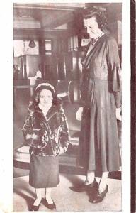 Circus Post Card, Old Vintage Antique Postcard John Lesters Midget Town Unused