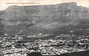 South Africa Cape Town and Table Mountain No. 1 Panorama 1911