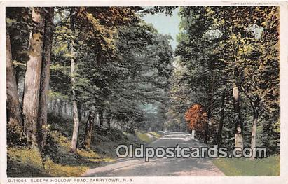 Tarrytown, NY, USA Postcard Post Card Sleepy Hollow Road