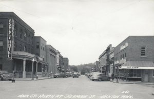 RP; JACKSON , Minnesota, 1930-40s ; Main Street , North