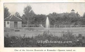 Artesian Reservoir at Kiamesha Kiamesha Lake NY Unused
