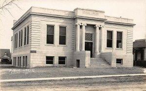 LPS53 Salida Colorado Public Library Postcard RPPC