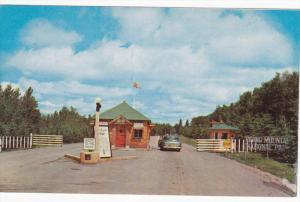 Entrance , Riding Mountain National Park , Manitoba , Canada , 50-60s