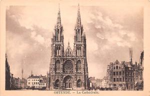 Ostende Belgium, Belgique, Belgie, Belgien La Cathedral Ostende La Cathedral