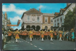 Berkshire Postcard - The Guards Band, Windsor     T2838