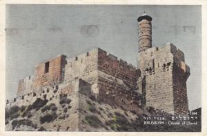 Citadel of David , Jerusalem , Israel , PU-1953