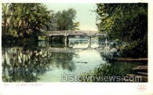 Old Bridge Concord MA Unused
