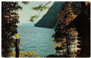 Postcard - Rogers' Rock Mt. On Lake George, New York