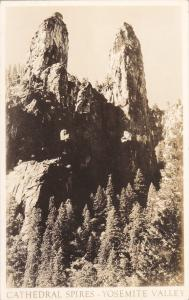 RP; YOSEMITE VALLEY, California, 10-20s; Cathedral Spires