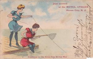 Crabbing On The Great Egg Harbor Bay Just Arrived At Hotel Atglen Ocean City ...