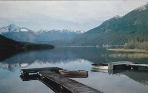 LILLOOET , B.C., Canada, 50-60s ; Big Gunn Lake