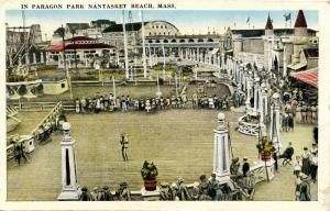 MA - Nantasket Beach. Paragon Park.