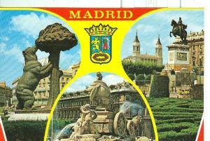 Postal 6134 : Bellezas de Madrid