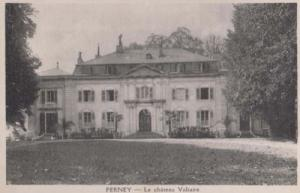 Ferney Le Chateau Voltaire French France Antique Postcard
