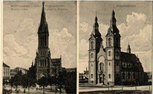 CPA AK MÜLHAUSEN - MULHOUSE - Église St-ÉTIENNE - Fridolinskirche (389574)