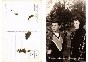 CPA Frankie Avalon, Jennifer Jones FILM STAR (591367)
