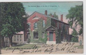VERGENNES , Vermont , 00-10s ; National Bank