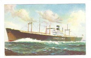 Lykes Bros. Steamship Co., Inc. Ship , China , 40-60s