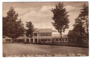 Shelburne Falls, Mass, Sweet Heart Tea House Mohawk Trail