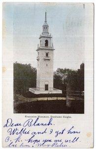 Dorchester, Mass, Evacuation Monument