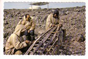 Inuit, Building a Kayak, Canada