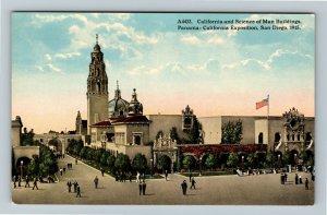 1915 Panama-California Exposition - Science of Man Building - San Diego Postcard