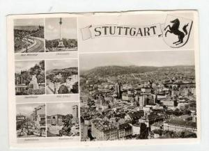 Multiview RP: Aerial of Town & Sights around Stuttgart,Germany 1940-50s