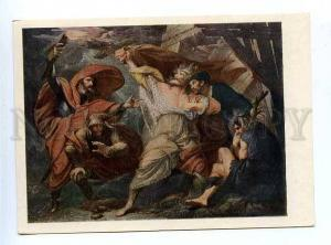 179942 USA King Lear by West old postcard